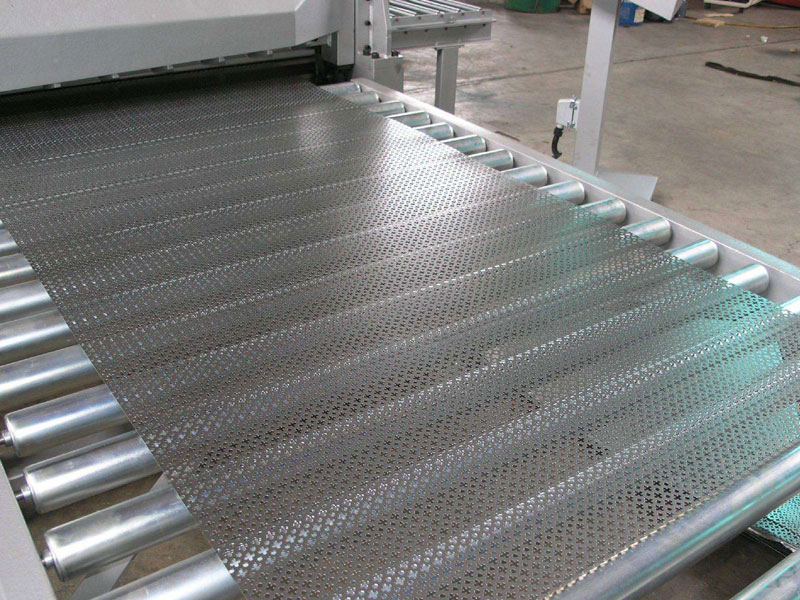 Stainless steel punching